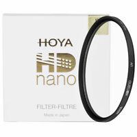 Hoya 72mm / 72 mm HD Nano High Definition UV Filter - NEW