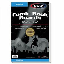 BCW Comic Boards (Current / Silver/ Gold/ Mag) (100/500/1000)