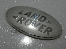 Land Rover Discovery 4 plus grand ovale Avant Grill Badge Sparkle Silver Chrome