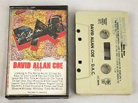 David Allan Coe ~ D.A.C. ~ Cassette, Columbia, FCT 38093, US, 1982
