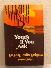 Rare (1978) Yours If You Ask by Susan Polis Schutz (Signed Copy) Book of Poems