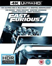 Fast and Furious 7 (4K UHD Bluray  Bluray Digital Download) [2015] [DVD]