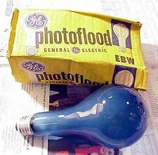 GE EBW NoB2 Photoflood | 4800K | Frosted |115-120V | NOS | Top Quality |~10,500L