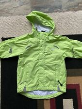 Girls Size 4 Windbreaker Lightweight Spring Jacket Green Hardly Worn