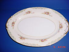 SPOTO CHINA MADE IN OCCUPIED JAPAN FINE CHINA 16 INCH SERVING PLATTER