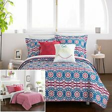 Chic Home Jojo 9 Piece Reversible Comforter Set Bed in a Bag Bohemian.