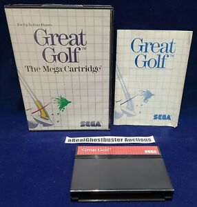 Great Golf Complete with Case & Manual for Sega Master System - US Release (A)