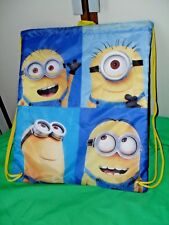 Licensed Despicable Me Minions Kevin Waterproof Bag NEW NYLON rrp$24.99