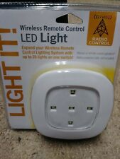 NEW Light It! White Wireless Remote Control LED Light