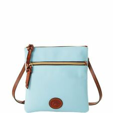 Dooney & Bourke Nylon Double Zip Crossbody Shoulder Bag