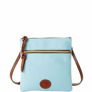 Dooney & Bourke Nylon Double Zip Crossbody Shoulder Bag