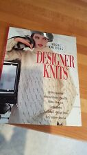 Vogue designer Knits Knitting Pattern Book DKNY CALVIN KLEIN + plus publier 1998