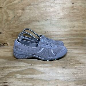 Skechers Relaxed Fit: Breathe Easy-Proud Moment Slip-On Shoes, Wmns sz 8.5, Gray