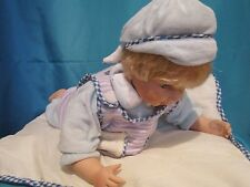 Cathay Collection Limited Edition Laying Down Porcelain Baby Boy Doll w/ Box
