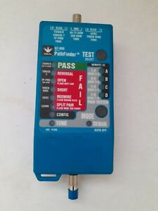 Ideal 62-080 Pathfinder Wire/Cable/Tester/Tracer RJ45 NOS