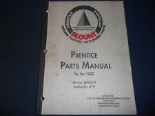 PRENTICE 120BC HYDRO-AX BLOUNT HYDRAULIC LOADER PARTS MANUAL BOOK CATALOG