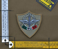 """Ricamata / Embroidered Patch ITa SF 4°Rgt. """"Ranger"""" Sand with VELCRO® brand hook"""