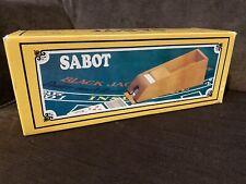 """Vintage Solid Oak Playing Card Dealer Shoe 15"""" Hansen w/ Box Blackjack Holder"""