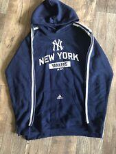 New York NY Yankees Adidas Hoodie Mens Sz XL
