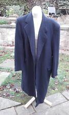 Cashmere 100% Austin Reed of Regent Street navy blue overcoat (44R)