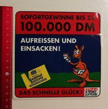 ADESIVI/Sticker: LOTTO TOTO lotteria nazionale Lotteria losbrief (26031724)