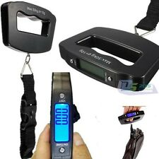 50KG/10G LCD Digital Portable Handheld Luggage Scale Weight Travel Suitcase Bag