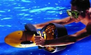 Sea Underwater Doo Scooter Seascooter Scuba Diving Sport Under Snorkeling Yellow