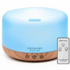 ASAKUKI Essential Oil Diffuser 1000ML Large Remote Control for Aromatherapy,