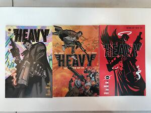 Heavy #1 THREE COVER SET - ALL 1st Print - Max Bemis & Donovan Vault Comics