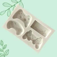 4 types Games Controller Silicone Mould Ice Tray Cake Cocolate Mold Usable