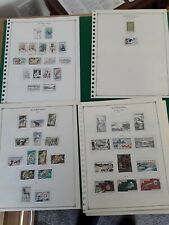 More details for mauritania small stamp collection 1941 to 1971 on pages