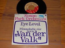 SIMON PARK ORCHESTRA - EYE LEVEL (VAN DER VALK) / VINYL 7'' SINGLE 1972
