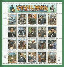 2975   US  Civil War - American  Never Hinged Sheet  issued year 1995