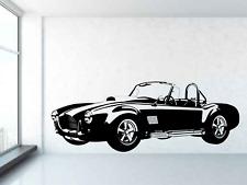 Shelby AC Cobra 427 Ford V8 1955 - 67  Vinyl wall art decal sticker. Any colour