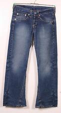 Levis 907 Jeans W31 L32 Levis Strauss & Co. Cordhose in blau Hose (RT-446)