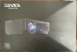 YABER Y31 Native 1920x 1080P Projector 7200 Lux Upgrade Full HD Video, White