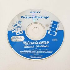 Sony Picture Package 1.0 Cyber-Shot Life PC Driver Disc WIN MAC SPVD -012.1
