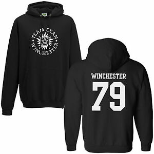 Team Dean Winchester 79 Hoodie - Supernatural Saving People Hunting Things Hoody