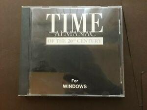 TIME ALMANAC of the 20th CENTURY PC CD-ROM (C63)