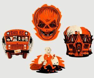 Trick R Treat Movie Horror Glow Dark Sam Bitten Wall Decor Retro Vntg Halloween