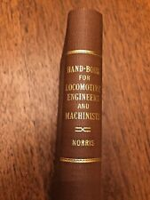 Norris's hand-book for locomotive engineers and machinists Norris, Septimus 1852