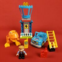 Lego Duplo 10880 Jurassic World T Rex Tower with Blue Jeep and Owen Figure