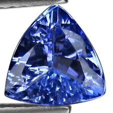 TRILLION LAB CREATED TANZANITE LOOSE GEMSTONE- 5+ CARATS - AN EYE POPPER !!!!