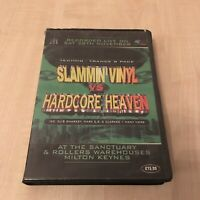 HARDCORE HEAVEN SLAMMIN VINYL RAVE TECHNO TRANCE HOUSE TAPE PACK CASSETTE BOX