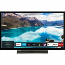 Toshiba 24WL3A63DB 24in Ready LED Freeview HD Play USB Record Smart TV -...