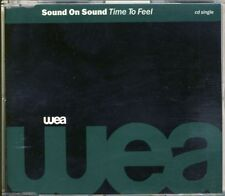 SOUND ON SOUND - time to feel 5 trk MAXI CD 1992