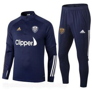 Leeds United 20/21 football sportswear adult jersey training suit jacket + pants