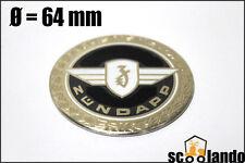 Neu! Tank Aufkleber Sticker Emblem Plakette Zündapp Wappen Badge Ø = 64mm #30