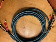 Audioquest Green Hyperlitz speaker Cables 2 X 3metres