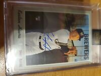 2021 Topps Archive Signature Series KESTON HIURA  RC AUTO 10/25 BREWERS  SSP